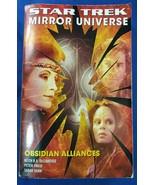 1 Book Star Trek Mirror Universe Obsidian Alliances Peter David Shaw DeC... - $12.00