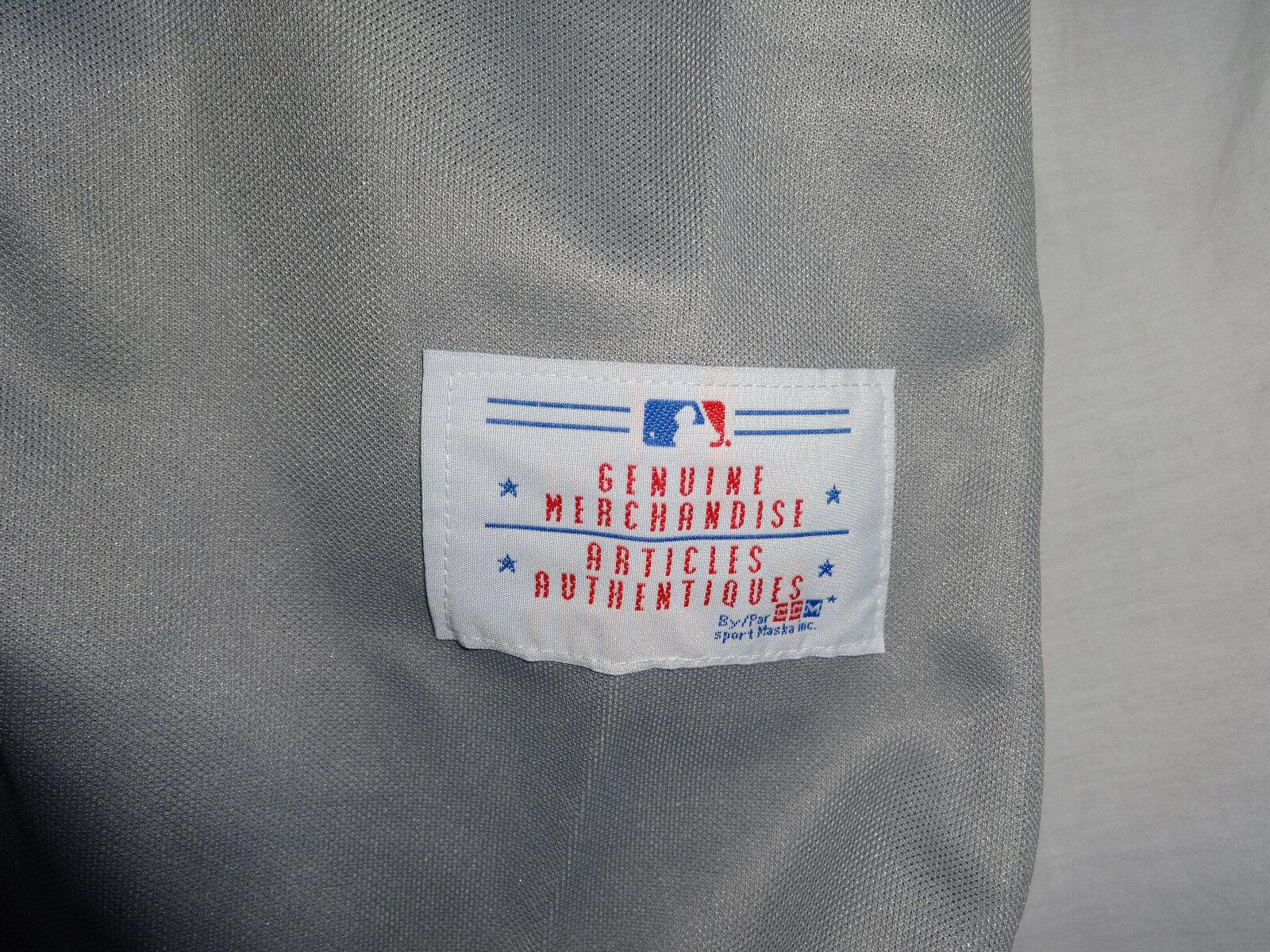 Vintage Original CCM Maska Toronto Blue Jays ROBERTO ALOMAR mlb Baseball Jersey