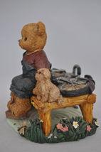 Beary Hill Bears - Boy With Bike - Classic Figurine image 4