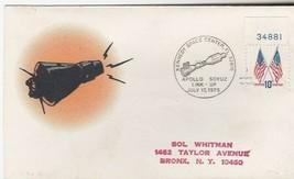 APOLLO SOYUZ LINK-UP KENNEDY SPACE CENTER FL JULY 17 1975 SOL WHITMAN CA... - $1.98