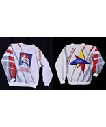 Vintage 80s Adidas 2nd Olympic Winter Games 1928 Sweatshirt Stripe St Mo... - $247.45