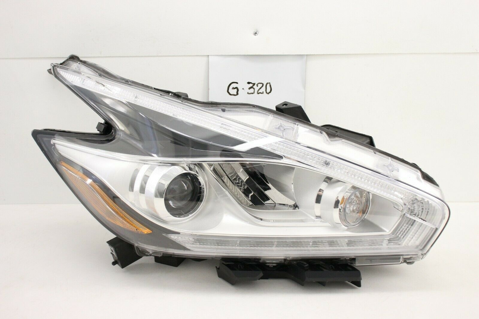 OEM HEADLIGHT HEADLAMP HEAD LAMP LIGHT LED 15-18 NISSAN MURANO HID RH chip mount - $297.00