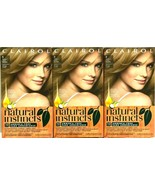 3 Clairol Natural Instincts Light Blonde 9-Sahara 2 Blond Hair Color Dye... - $34.62
