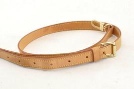 LOUIS VUITTON Leather Shoulder Strap 92-110cm LV Auth sa1177 - $240.00