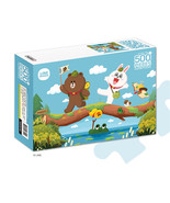 LINE Friends Jigsaw Puzzle Expedition 500 pcs Character Kids Teens Bromi... - $30.83