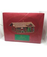 The Sarah Hay's Train Station Hallmark Plain And Tall Collection Dated 1994 - $8.90