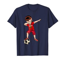 Brother Shirts - Dabbing Soccer Boy Morocco Jersey Shirt - Football Tee Gift Men - $19.95+