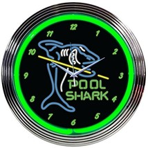 Neonetics Pool Shark Neon Wall Clock, 15-Inch - $87.69