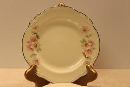 """6 Homer Laughlin Virginia Rose Pattern Ceramic Bread Plates 6 1/4"""" Rnd USA - $17.99"""