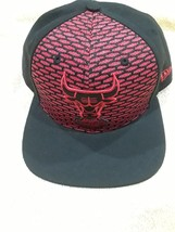 CHICAGO BULLS New Era 9FIFTY Black Red WINDY CITY Adjustable CAP HAT NBA - $16.99