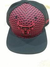 CHICAGO BULLS New Era 9FIFTY Black Red WINDY CITY Adjustable CAP HAT NBA - ₹1,186.75 INR