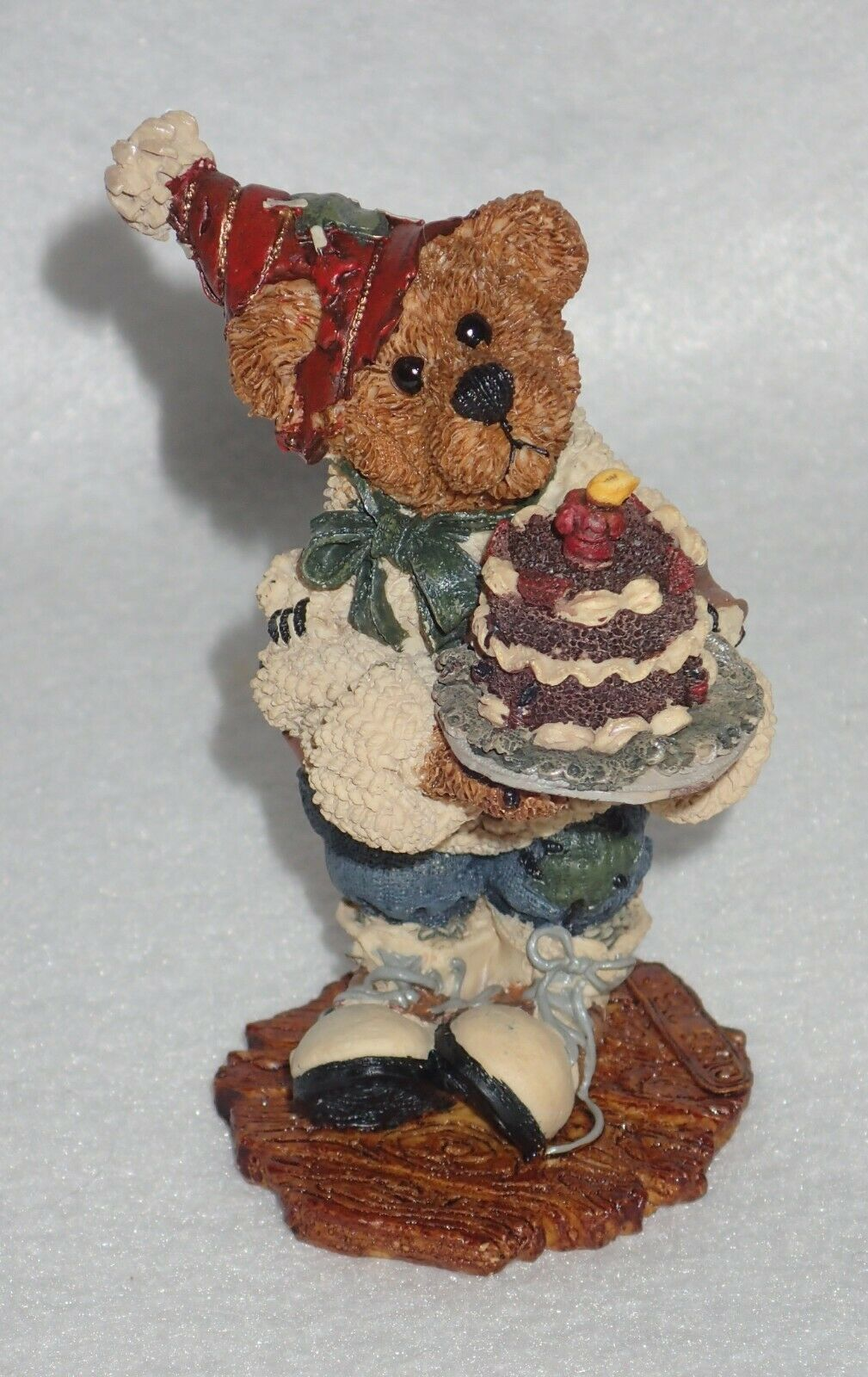 Boyd Bearstone 1996 M. Harrison's Birthday Resin Figurine #2275 27E NEW IN BOX