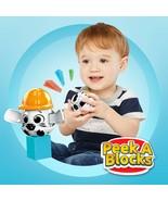 Mega Bloks Peek A Blocks Construction Site Building Toys for Toddlers (3... - $30.09