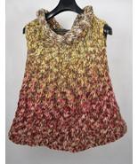 Free People Cowl Neck Sweater Sleeveless L - $29.70
