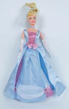 Disney Princess Enchanted Swirl N' Style Cinderella Doll Mattel 2001  - $10.88