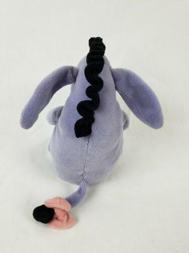 "Disney Winnie The Pooh Eeyore 6"" Plush Donkey Stuffed Animal Jingle Bell image 2"