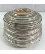 Antique IL GUARAMY Music Box powder compact Romantic Decor - $45.00