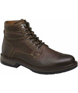 Mens Johnston & Murphy Rutledge Shearling Boot - Brown Leather [25-3080] - $164.99