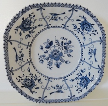 Johnson Brothers Indies Blue Ironstone Square Cereal Bowl - $14.99