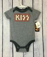 KISS Infants One Piece Snap Crotch Bodysuit Sz 6/9 Months 6 9 Concert Ba... - $18.99