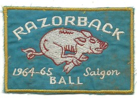 US Army 120th Assault Helicopter Company RAZORBACK 1964-65 Saigon Ball Patch - $11.87