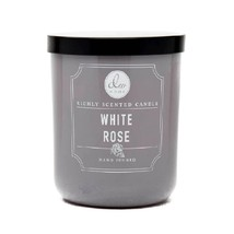 DW Home Richly Scented Candles Small Single Wick 3.8 oz. - White Rose - £13.57 GBP