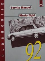 1992 Oldsmobile Ninety Eight 98 Workshop Repair Service Shop Manual Fact... - $11.39