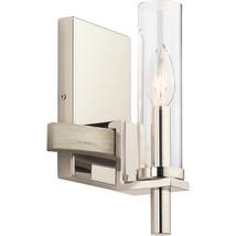 Kichler Lighting 44287WWW Wall Sconces White Washed Wood Steel Telan - $119.99