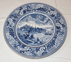 """Johnson Brothers England dinner plate View of Boston Historic America 10"""" ~ - $24.74"""