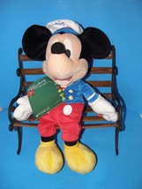 """Plush Talking Mickey 21"""" Sailor Holiday 2009 Disney Made Exclusively For Macy's - $14.01"""