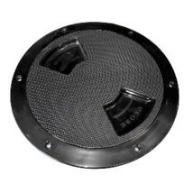 "Sea-Dog Textured Quarter Turn Deck Plate - Black - 5"" - $35.82"