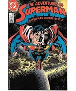 The Adventures of Superman Comic Book #435 DC Comics 1987 VFN/NEAR MINT ... - $2.75