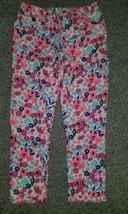JORDACHE Bright Floral Denim Cropped Jegging Girls Size 10-12 - $4.88