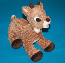 "Rudolph The Red Nosed Reindeer 14"" Build A Bear Plush Nose Does Not Lights Up - $13.52"
