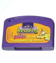 LeapFrog Leap 1 Cartridge Only Reading Scooby Doo & the Disappearing Don... - $3.89