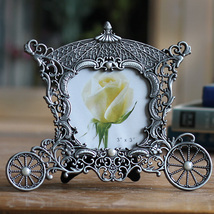 Metal vintage picture frames classic picture photo frame small Europe mi... - $19.99