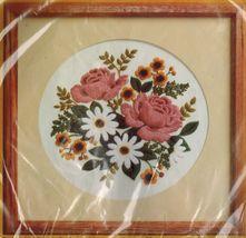 CLASSIC BOUQUET Creative Circle Crewel Embroidery Eugenia Parfionow KIT ... - $14.99