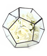 Irregular Glass Geometric Terrarium Box Flower Pot DIY Tabletop Succulen... - £25.46 GBP