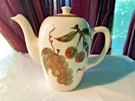 Stangl Pottery Orchard Song Coffee Server Signed - $15.99