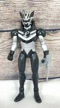 2007 Bandai Power Rangers Jungle Fury Swoop Black Bat Spirit Ranger Figure - $9.69