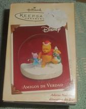 Hallmark Keepsake 2005 Winnie the Pooh Piglet Christmas Decoration in Spanish - $9.00