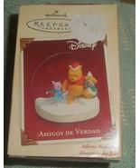 Hallmark Keepsake 2005 Winnie the Pooh Piglet Christmas Decoration in Sp... - $9.00
