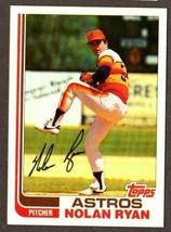 1982 TOPPS BASEBALL #90 NOLAN RYAN (HOF) CARD- HOUSTON ASTROS - $6.88