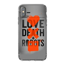 Cartoon Love,Death&Robots Silicone Phone Case For iPhone Xs Max X XR 8 7... - $11.87+