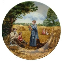 Bradford Exchange Wedgwood Harvest Supper from The Village Green by Petula Stone - $30.58