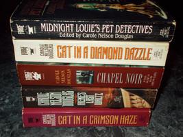 Carole Nelson Douglas lot of 5 mystery paperbacks - $5.99
