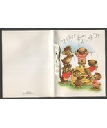 3 Vintage Greeting Cards Gift from All of Us 1 Hallmark 2 Rust Craft 5.5... - $4.00