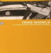 2017 harley davidson trike tri glide models service shop repair manual oem - $168.25