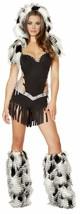 Native American Hottie Costume Medium Womens Halloween Eskimo Princess R... - $67.50