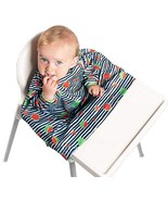 Weaning Bib, BIBaDO Baby Feeding Coverall Straps To Any Highchair, Ideal... - $28.15